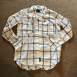 Abercrombie & Fitch Boyfriend Button Up XS NWT